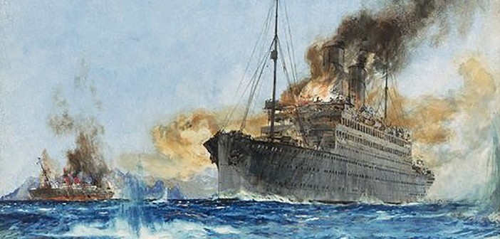 Battle of the Ocean Liners
