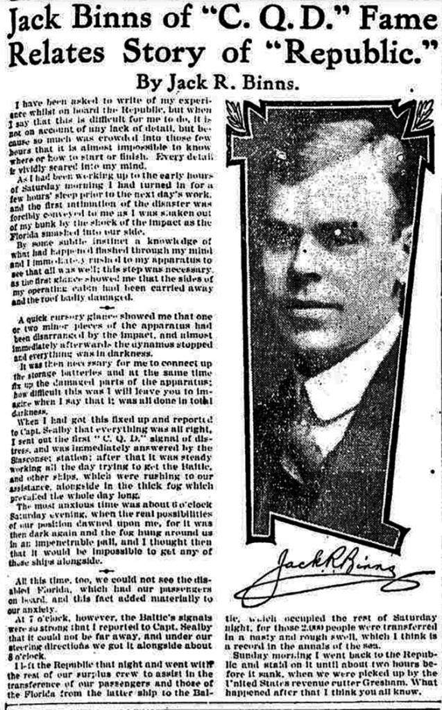 Chicago Tribune, 1909 April 4. (Click to Enlarge)