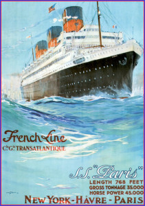 Paris-1921- Poster