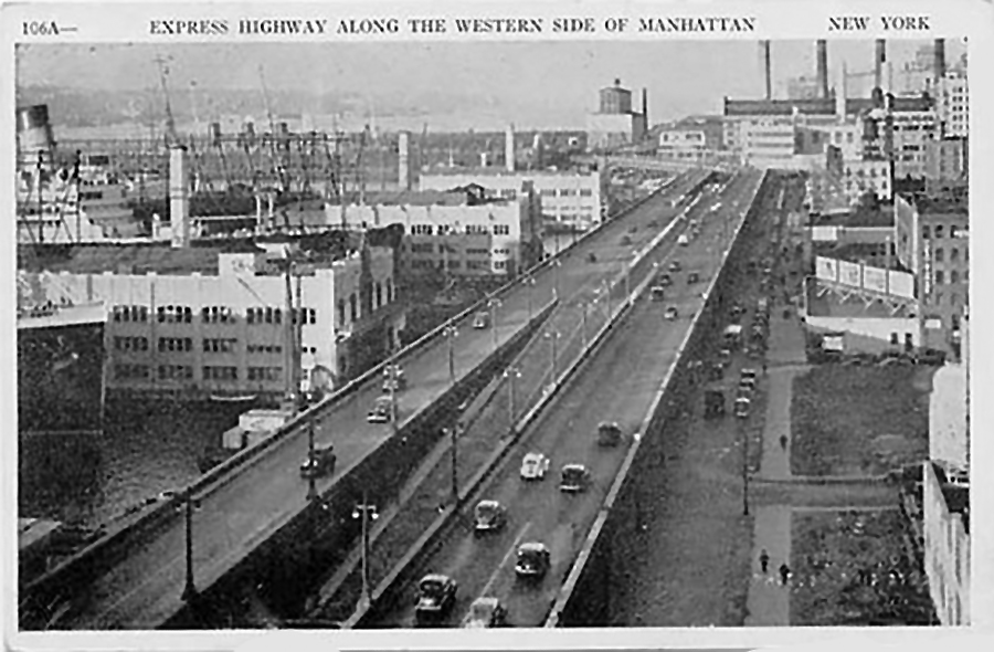 Riding On The West Side Highway Ocean Liners Magazine