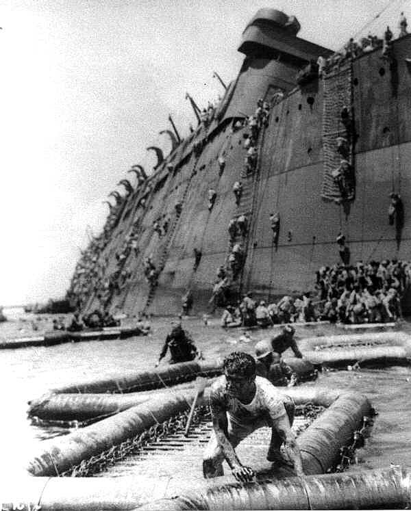 Coolidge Troops Abandon