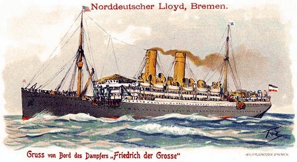 Friedrich der Grosse in her glory days.