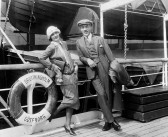 Greta Garbo Sails to Fame