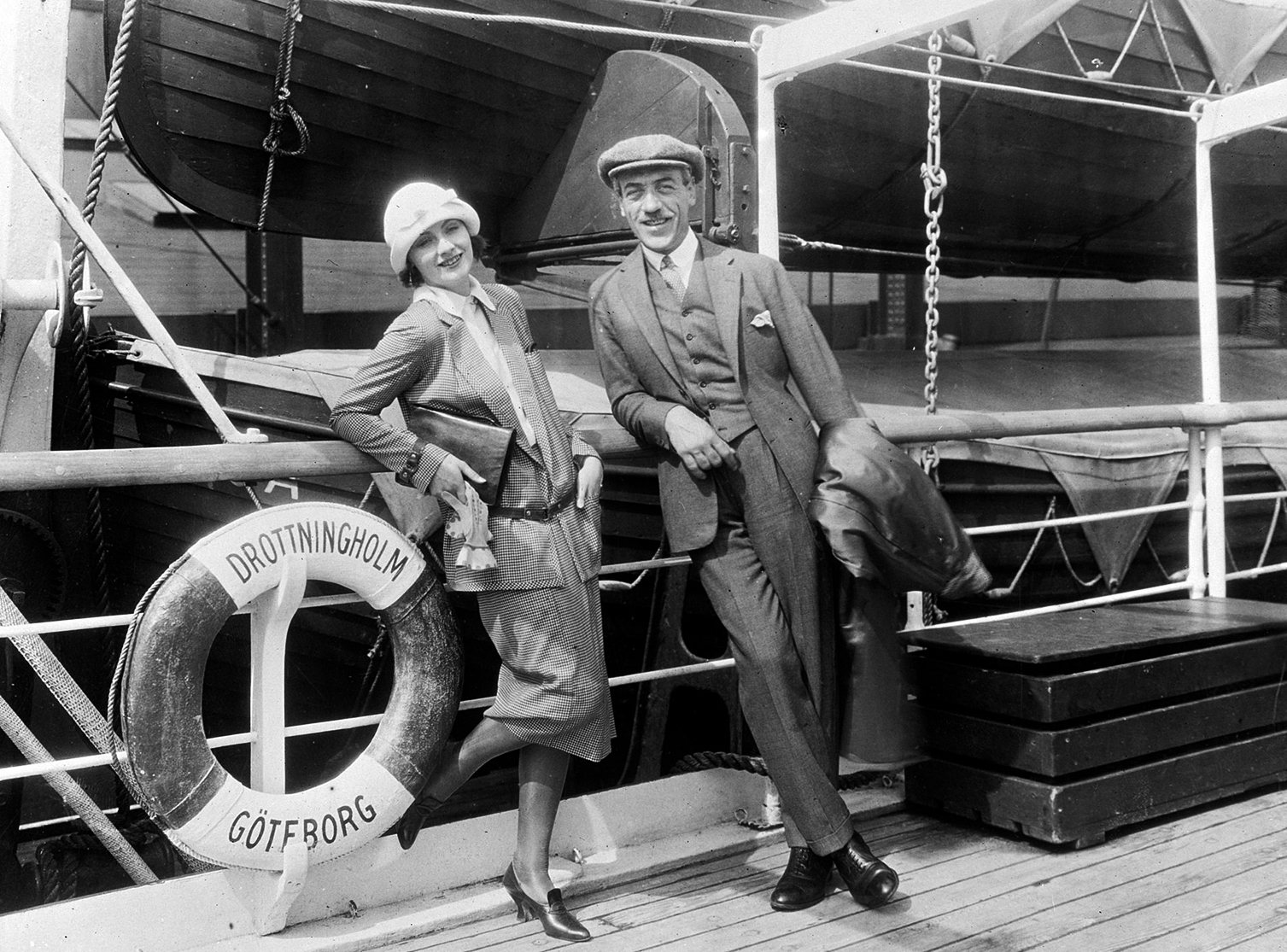 Greta Garbo Sails To Fame Page 3 Of 3 Ocean Liners