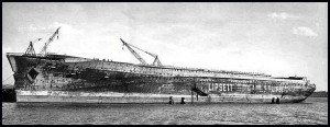 Normandie scrap