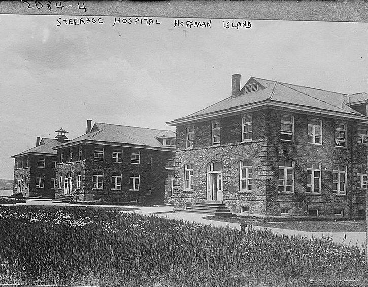 Steerage Hospital, Hoffman Island