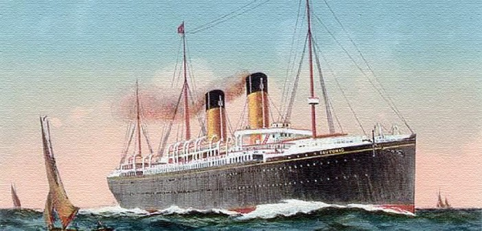 Teutonic (Not Titanic) Encounters an Iceberg