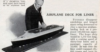 The 1940 Plan for Aircraft Carrier Ocean Liners