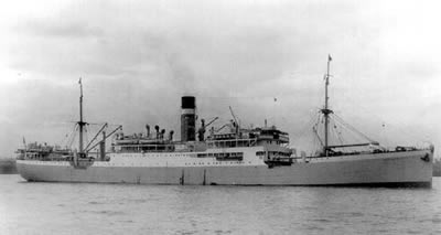 City of Cairo in her wartime livery.
