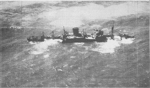 Dunedin Star, approximately two months after she was run aground.