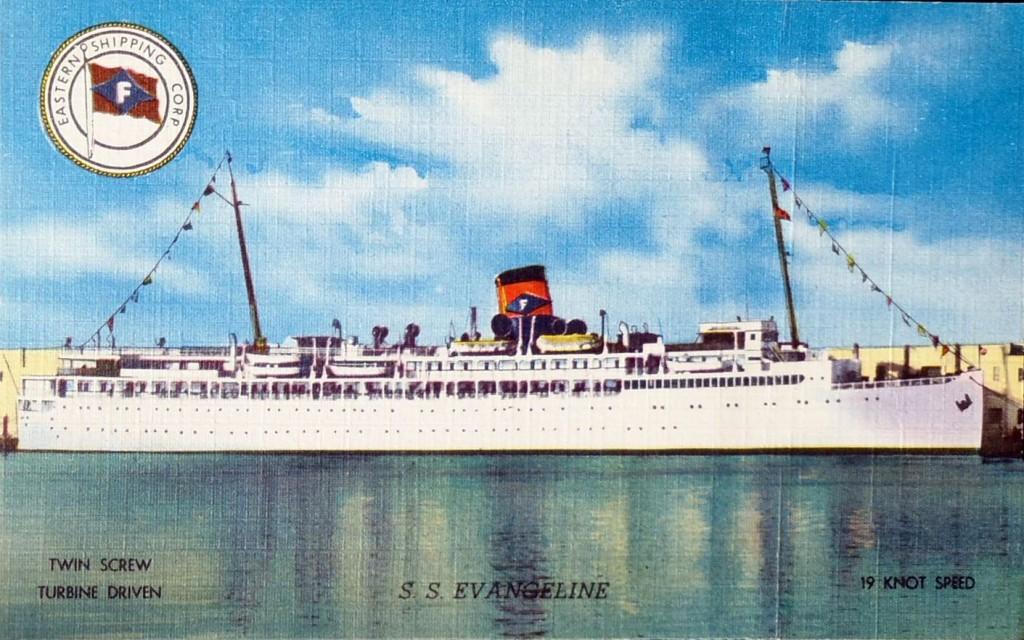 Evangeline Postcard