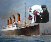 Father Christmas Visits Aquitania