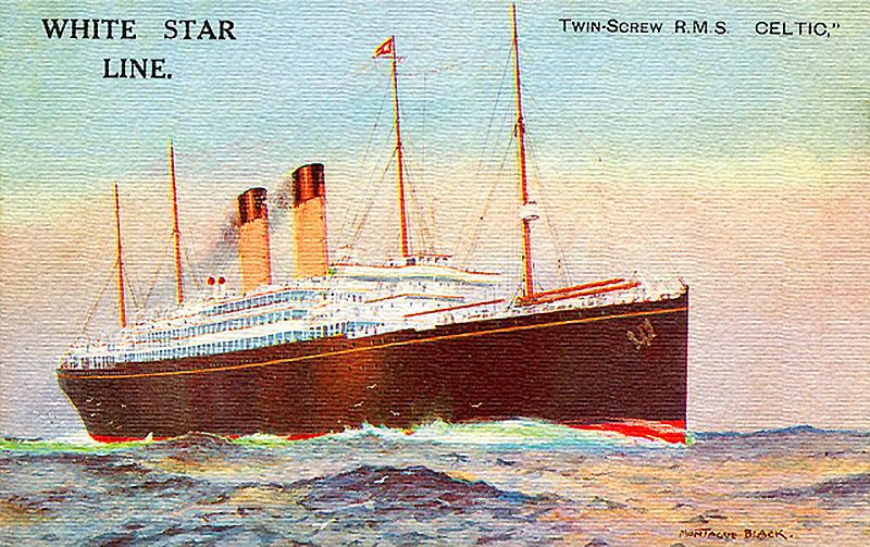 Celtic-1901 Postcard