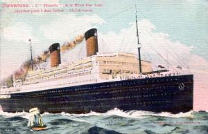 Homeric-1922 Postcard