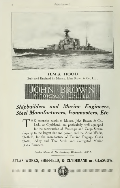 John Brown Ad, 1923