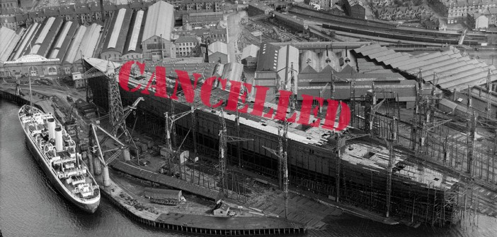 The Day They Stopped Building Queen Mary