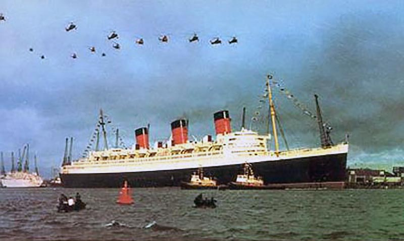 Queen Mary Southampton Last