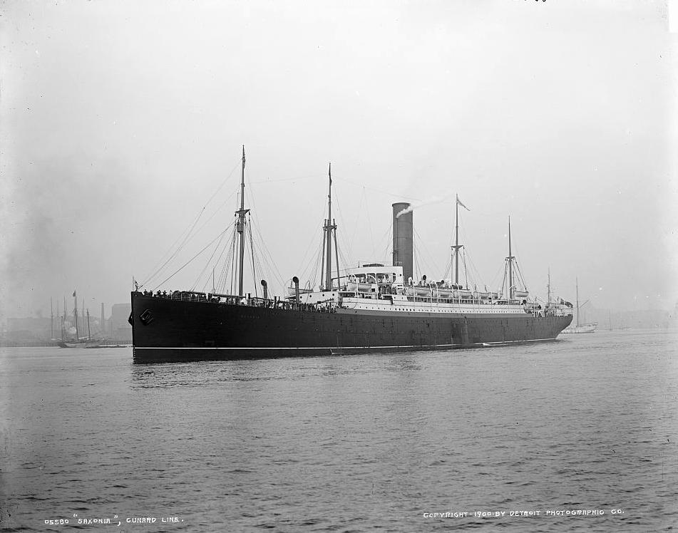 Saxonia, 1900, 2