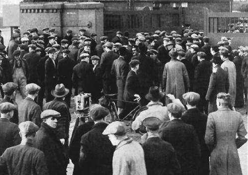 Shipyard Workers Return to Work-1934