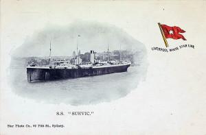 Suevic Postcard