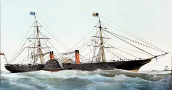 Persia Spears an Iceberg