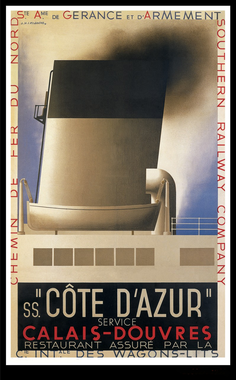 Cassandre: The Man and the Poster