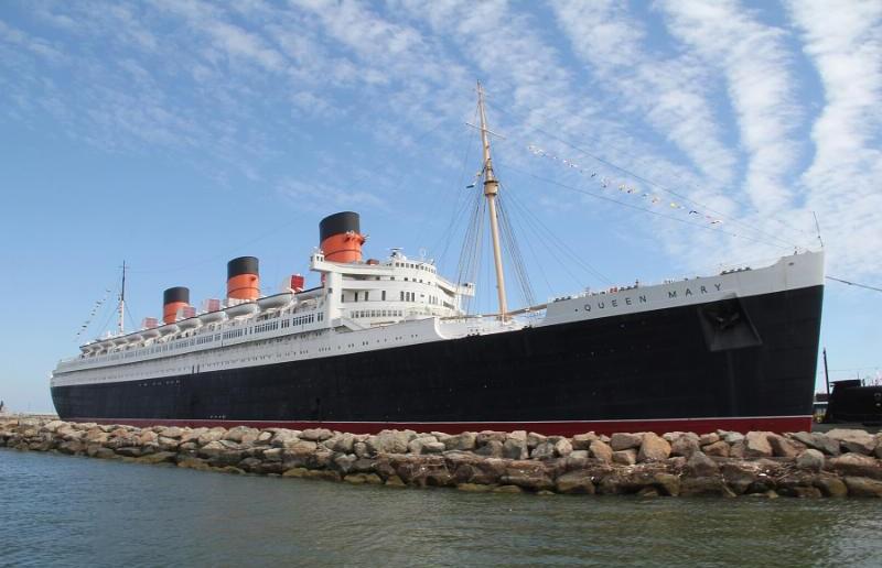 Queen Mary Readies Ship Model Gallery