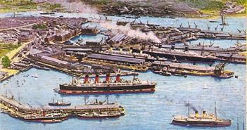 Six Ocean Giants In One Port