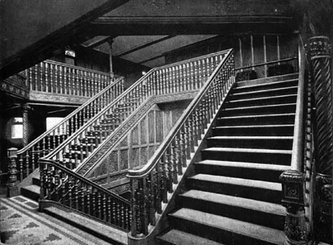 Teutonic's Main Staircase