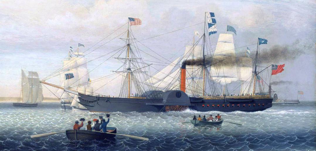 Britannia The First Cunarder