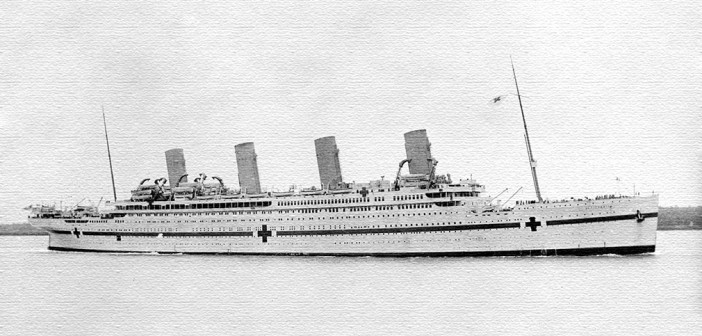 Britannic—The Liner That Never Was