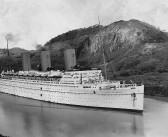 Empress of Britain (1931) Washes Up