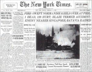 Normandie disaster