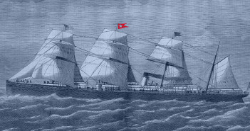First White Star Liner to Sink