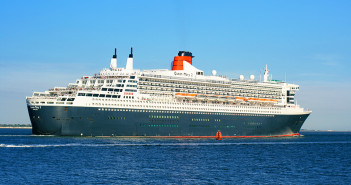 Queen Mary 2 Keeps the Flame Alive