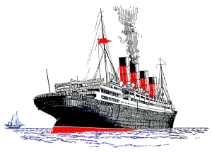 Aquitania Abandon Ship Drill