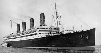 "Aquitania Completes the ""Grand Trio"""