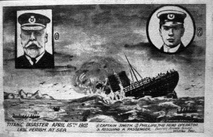 Odd Titanic Postcard