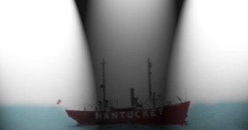 Olympic Sinks a Lightship