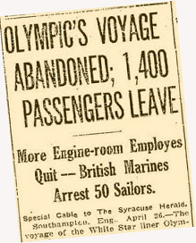 Olympic Mutiny Headline