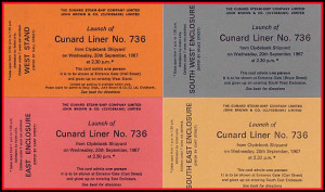 QE2 Launch Tickets