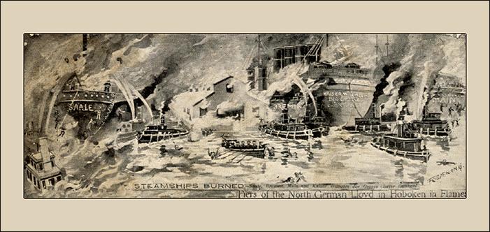 120th Anniversay: The Great Hoboken Pier Fire