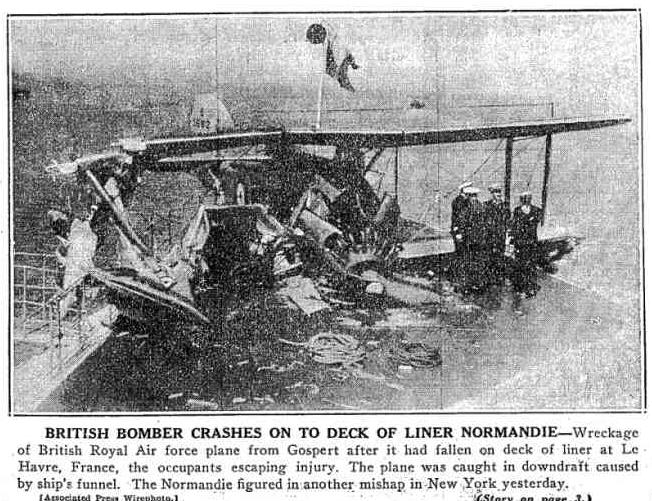 Normandie-Plane-Crash
