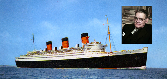 T.S. Eliot Cheats Death on Queen Mary