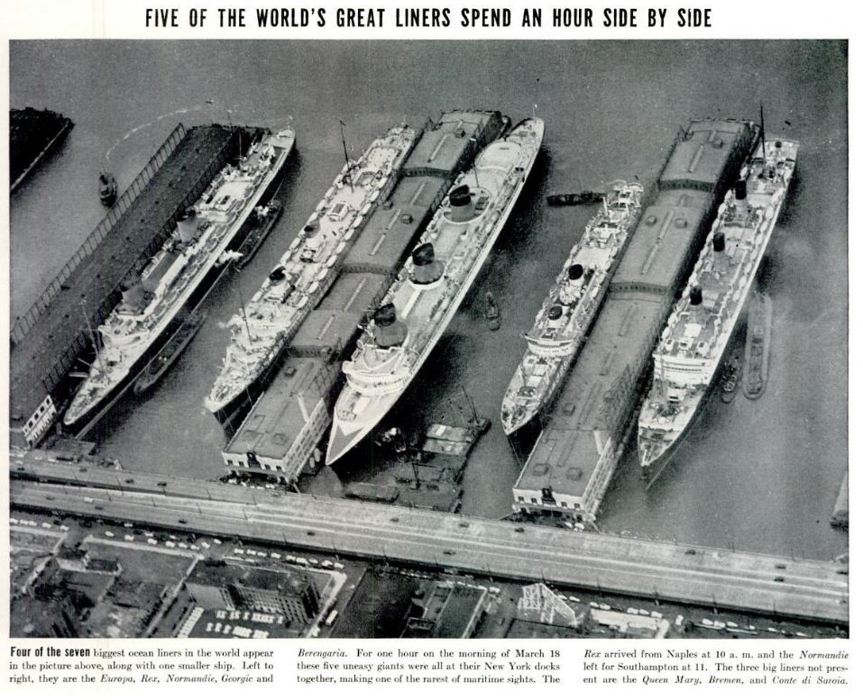 1937 Great Liners