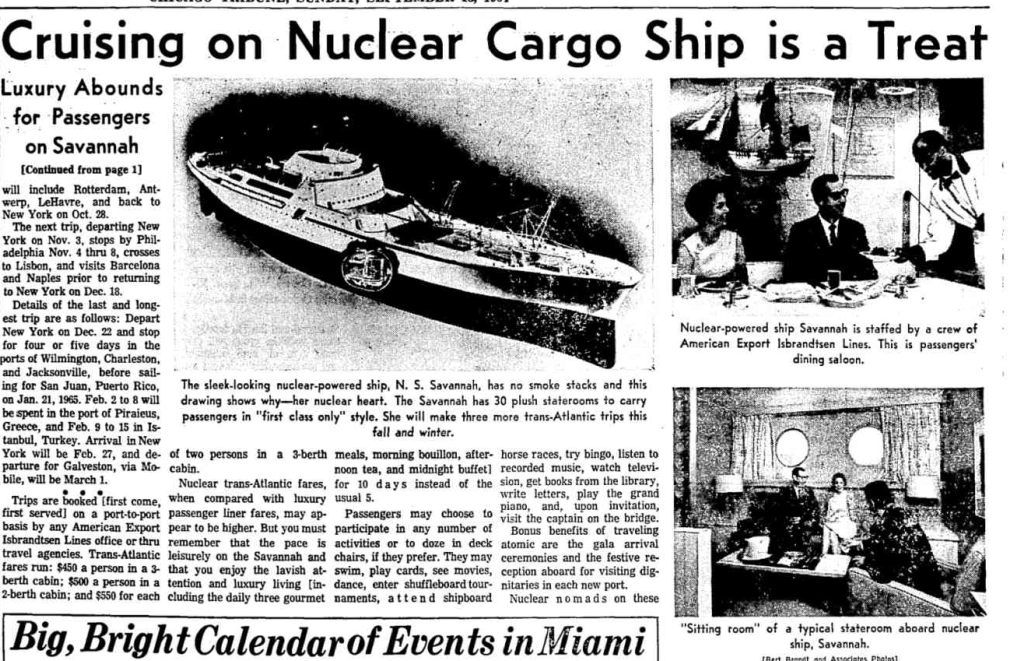 Savannah, the Nuclear Liner