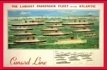 Cunard Begins the Ocean Liner Era