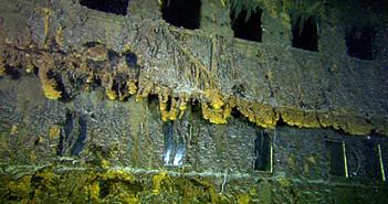 Titanic found