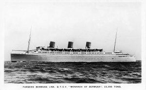 Rescue ship Monarch of Bermuda