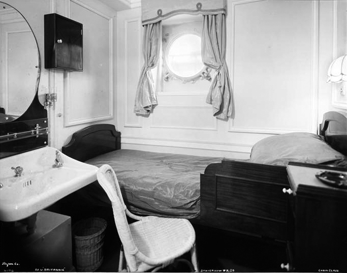 006-Cabin Class, Interior, Single Bed Inside Stateroom # A.20. Functional.